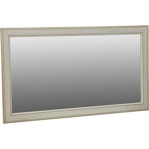 Зеркало Мебелик Васко В 61Н белый ясень/золото зеркало мебелик сильвия белый ясень