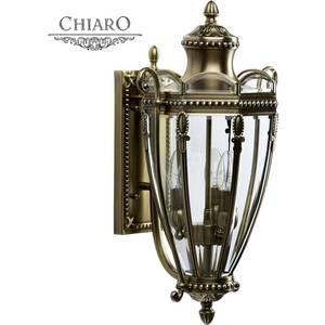 Уличный настенный светильник Chiaro 802020903
