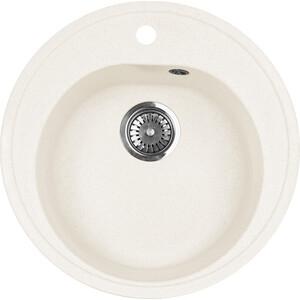 Кухонная мойка AquaGranitEx M-08 (331) белый