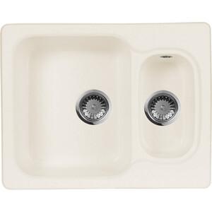 Кухонная мойка AquaGranitEx M-09 (331) белый мойка кухонная aquagranitex m 15 775х495 белый m 15 331