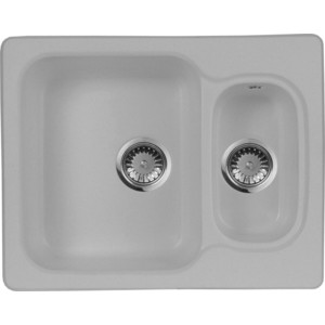 Кухонная мойка AquaGranitEx M-09 (310) серый мойка кухонная aquagranitex m 15 775х495 серый m 15 310