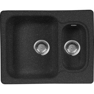 Кухонная мойка AquaGranitEx M-09 (308) черный