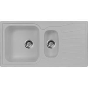 Кухонная мойка AquaGranitEx M-09K (310) серый цена