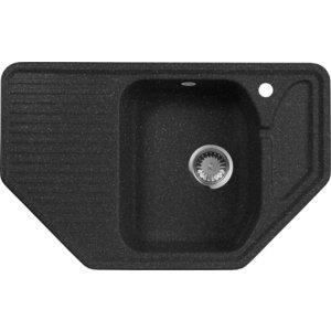 Кухонная мойка AquaGranitEx M-10 (308) черный