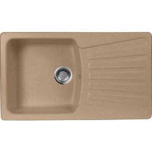 Кухонная мойка AquaGranitEx M-12 (302) песочный