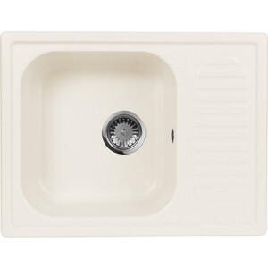 Кухонная мойка AquaGranitEx M-13 (331) белый