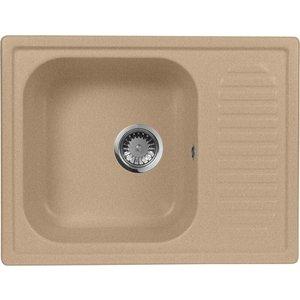Кухонная мойка AquaGranitEx M-13 (302) песочный