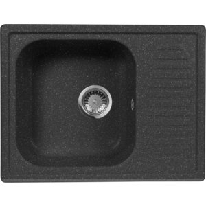 Кухонная мойка AquaGranitEx M-13 (308) черный