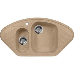 Кухонная мойка AquaGranitEx M-14 (302) песочный недорого