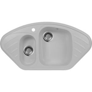 Кухонная мойка AquaGranitEx M-14 (310) серый мойка кухонная aquagranitex m 15 775х495 серый m 15 310