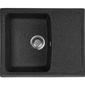 Кухонная мойка AquaGranitEx M-17K (308) черный