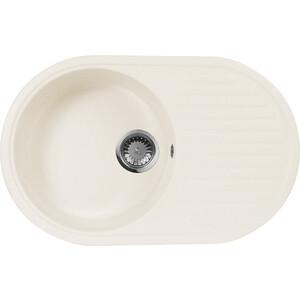 Кухонная мойка AquaGranitEx M-18 (331) белый