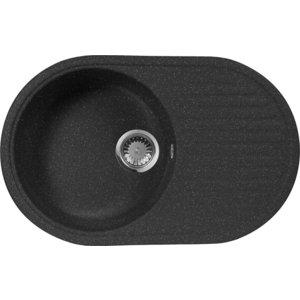 Кухонная мойка AquaGranitEx M-18 (308) черный