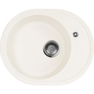 Кухонная мойка AquaGranitEx M-18L (331) белый