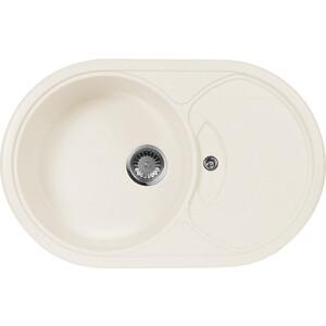 Кухонная мойка AquaGranitEx M-18S (331) белый