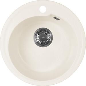 Кухонная мойка AquaGranitEx M-45 (331) белый