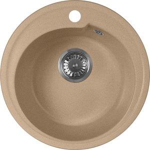 Кухонная мойка AquaGranitEx M-45 (302) песочный