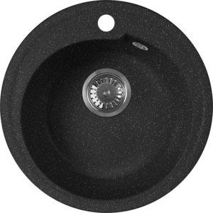 Кухонная мойка AquaGranitEx M-45 (308) черный