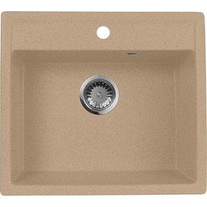 Кухонная мойка AquaGranitEx M-56 (302) песочный
