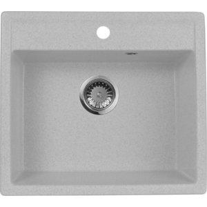 Кухонная мойка AquaGranitEx M-56 (310) серый