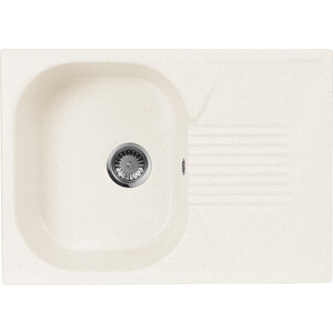 Кухонная мойка AquaGranitEx M-70 (331) белый