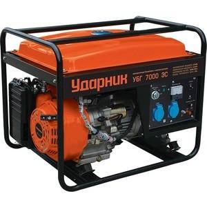 Генератор бензиновый УДАРНИК УБГ 7000 ЭС генератор ударник убг 7000 эс 5 5ква 25л 3000об мин