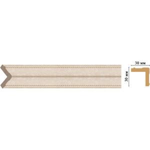 Угол Decomaster Ионика цвет 18D 30х30х2400 мм (116-18D) decomaster багет decomaster 118 19 13x13x2400