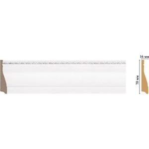 Плинтус Decomaster Эрмитаж цвет 60 70х16х2400 мм (193-60) цены онлайн