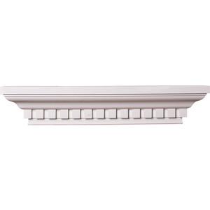 Полка Decomaster DECOMASTER-2 цвет белый 135х700х95 мм (91363)