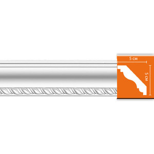 Профиль Decomaster DECOMASTER-2 цвет белый 50х50х2400 мм (95638)