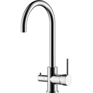 Смеситель для кухни Rossinka с подключением к фильтру питьевой водой (Z35-28)