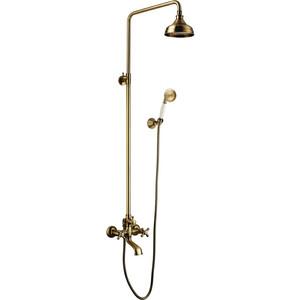 Душевая система Lemark Vintage для ванны (LM2862B)