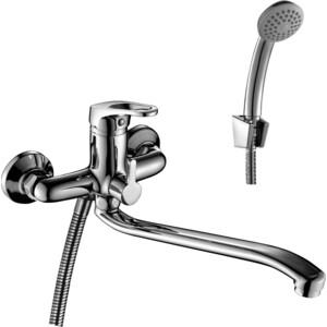 Смеситель для ванны Rossinka для ванны с S- образным изливом (B35-34) смеситель для ванны rossinka silvermix b35 31