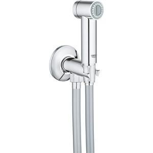 Гигиенический набор Grohe Sena лейка, шланг, подключение для шланга, вентиль (26332000)