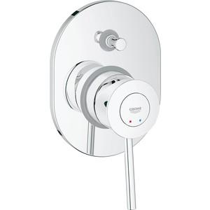 Смеситель для ванны Grohe BauClassic с механизмом (29047000) смеситель для кухни grohe bauclassic 31234000