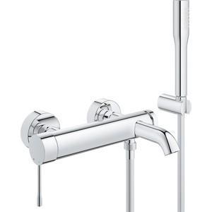 Смеситель для ванны Grohe Essence+ с душевым гарнитуром (33628001) цены онлайн