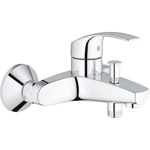 Смеситель для ванны Grohe Eurosmart New (33300002) смеситель для ванны с душевой лейкой grohe eurosmart 33300002 для ванны с душем
