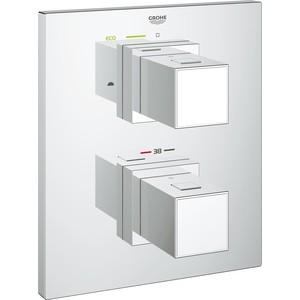 Термостат для ванны Grohe Grohtherm Cube накладная панель, 35500 (19958000)