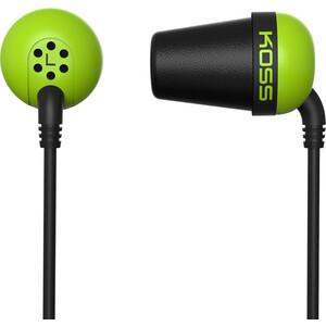 Наушники Koss The Plug green наушники koss keb6i g green
