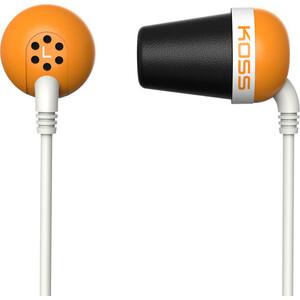 Наушники Koss The Plug orange стоимость