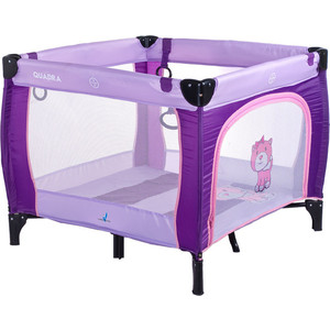 Манеж Caretero Quadra purple (TERO-3992)