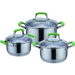 Набор посуды из 6 предметов Bekker De Luxe (BK-1738) набор ножей bekker 6 предметов цвет голубой bk 8446