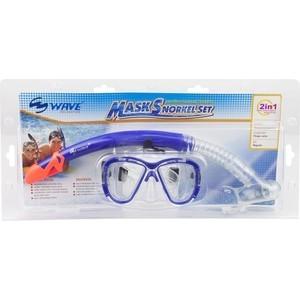 Набор для плавания Wave MS-1313S5 силикон маска трубка wave diving mask and snorkel set silicone ms 1313s5 blue