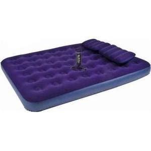 Кровать Relax Flocked air bed queen насос+2подушки 203х152х22 JL021470N