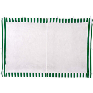Стенка к шатру Green Glade с москитной сеткой (зеленая) 1.95х2.95 4130