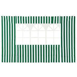 Стенка к шатру Green Glade с окном (зеленая) 1.95х2.95 4110