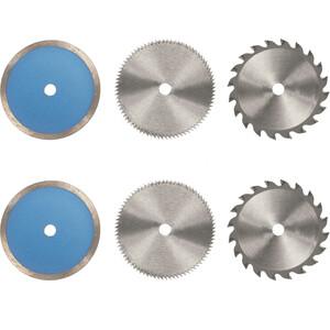 Набор дисков Einhell 85х10мм 6шт (4502128)