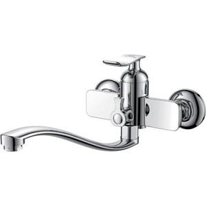 Смеситель для ванны D&K Bayern-Liszt с прямым плоским изливом (DA1233301)