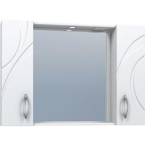 Зеркало-шкаф VIGO Mirella №36 1000 белый зеркало шкаф vigo jika 19 800 80х16х70