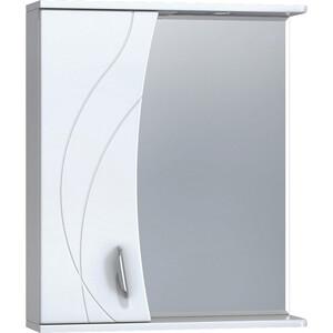Зеркало-шкаф VIGO Faina №25 600Л с подсветкой, белый (2000145484145)